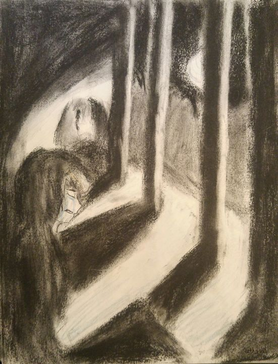 Sad Behind Pillars - Slawson