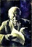 Portrait of the great psychologist,