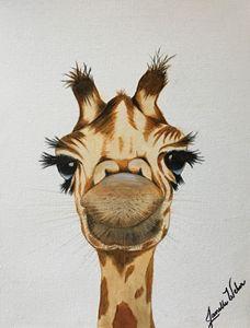 Ginger the Giraffe - Creative Art by Mimi