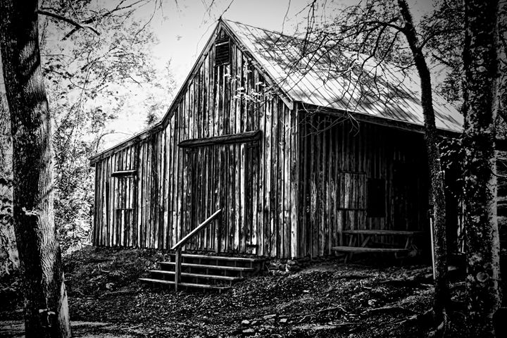 Blacksmith's Cabin - Irene Tolvay Dowdy Fine Art Photography