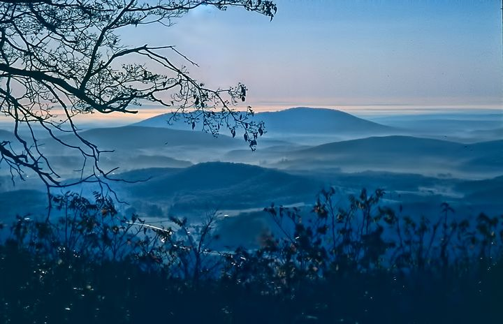 Blue Ridge Mountains - Irene Tolvay Dowdy Fine Art Photography