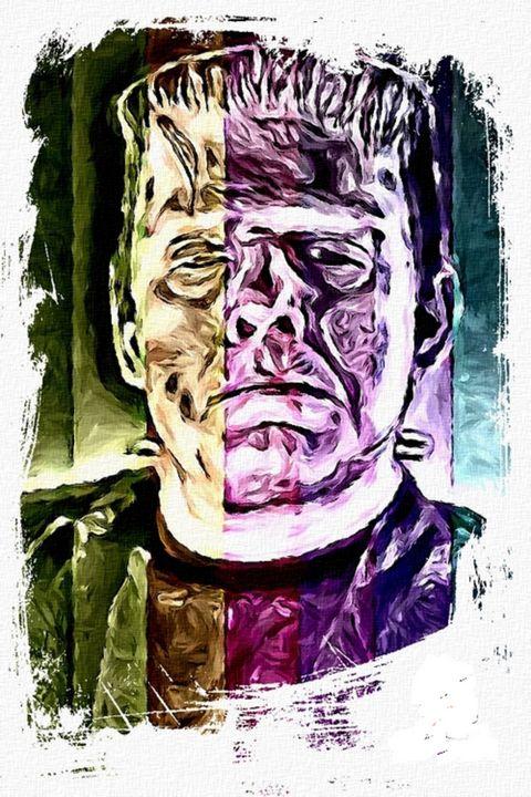The Ghost of Frankenstein - Destined Nostalgic Artifacts