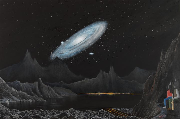 Andromeda Rising - Landscape & Space Art of Suresh N C