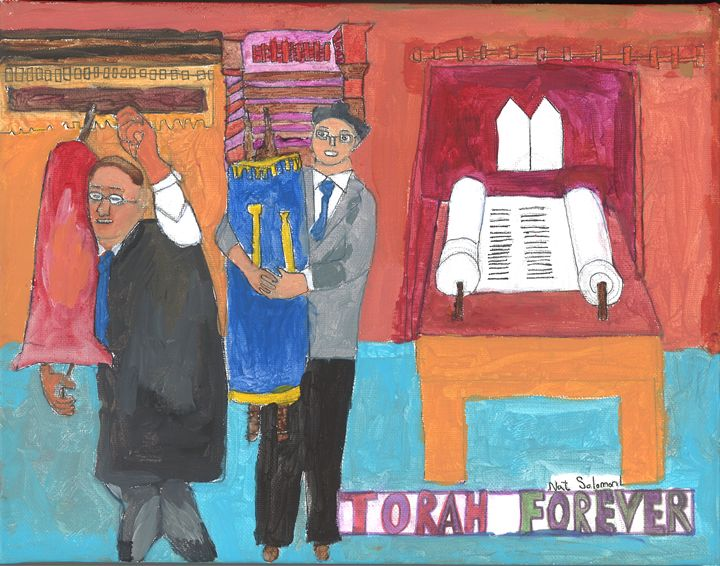 Torah Forever - Nat Solomon's Paintings and Photography