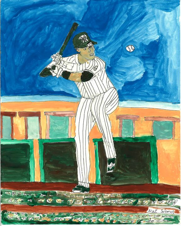 Aaron Judge: Yankee Superstar - Nat Solomon's Paintings and Photography