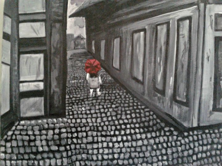 Italian Alleyway - Christina Anne