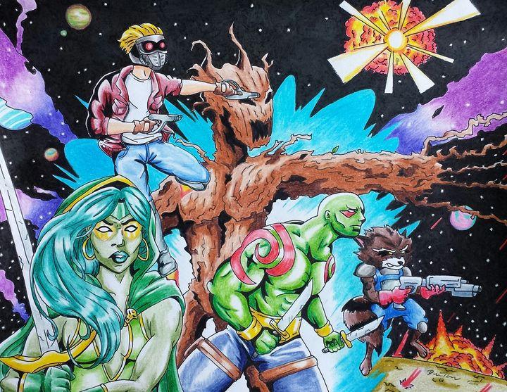 Guardians of the Galaxy - Character Mash Ups