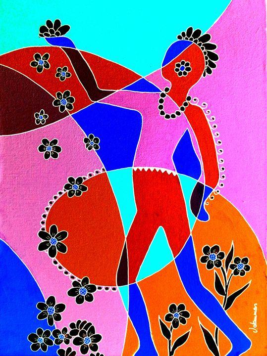 I offer a flower 2 - Viveca Lammers