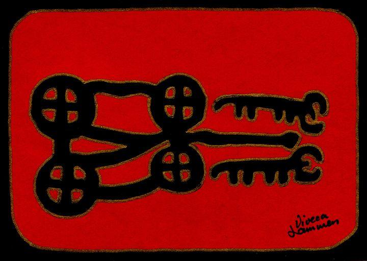 Shamanic Art Card - Viveca Lammers