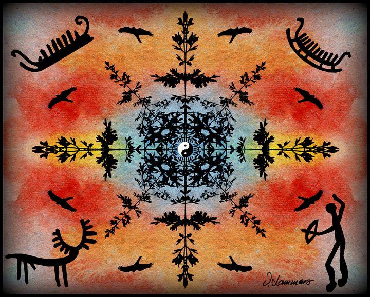 Mandala 1 - Viveca Lammers