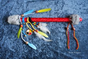 "Talking Stick ""Red Hawk"""