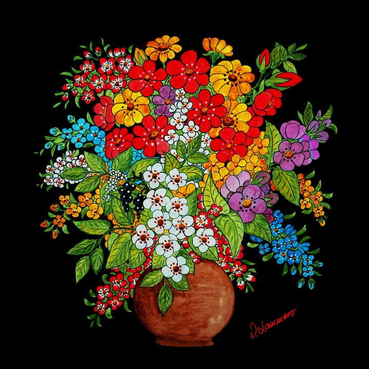 Flower Pot - Viveca Lammers
