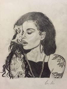Drawing of Kehlani