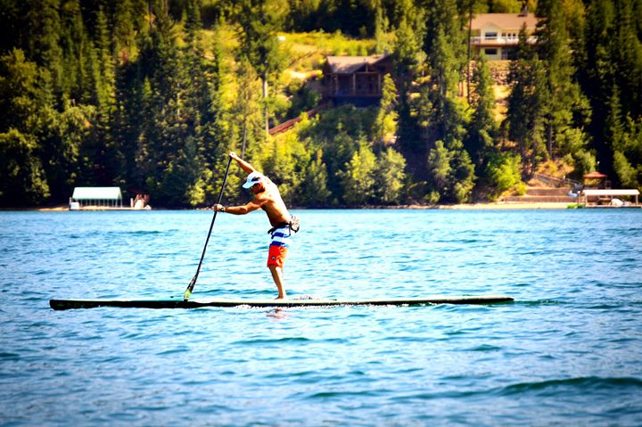 Perfect day on Hayden Lake - A & B Martin Photography