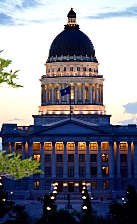 Utah State Capitol - A & B Martin Photography