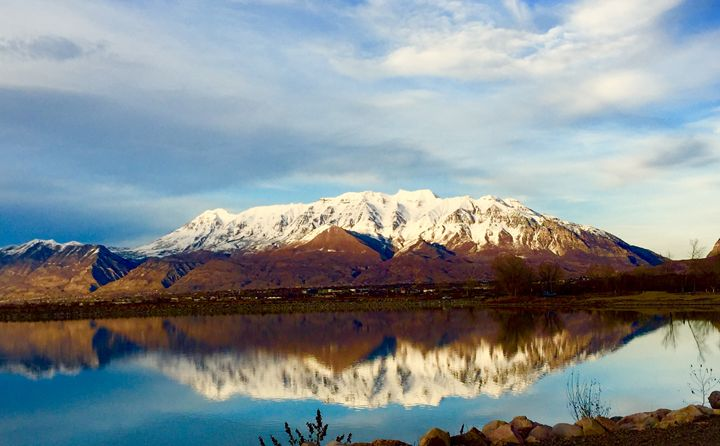 Mountain Reflection - A & B Martin Photography