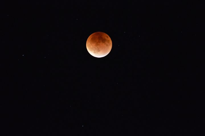 Blood Moon 2015 - A & B Martin Photography