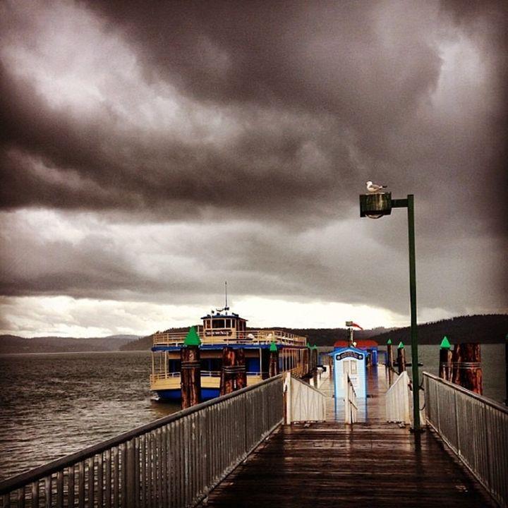 The Dock of Lake CDA - A & B Martin Photography