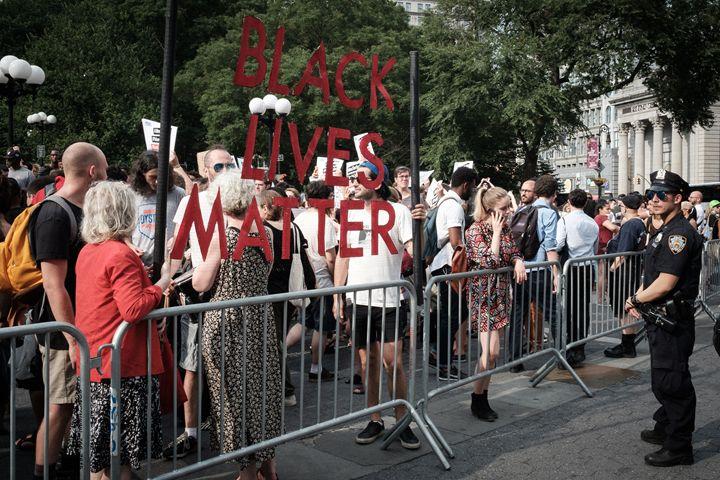 Black Lives Matter Sign - Seth Webster Photography