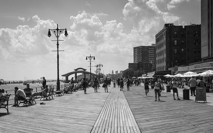 Brighton Beach Boadwalk - Seth Webster Photography