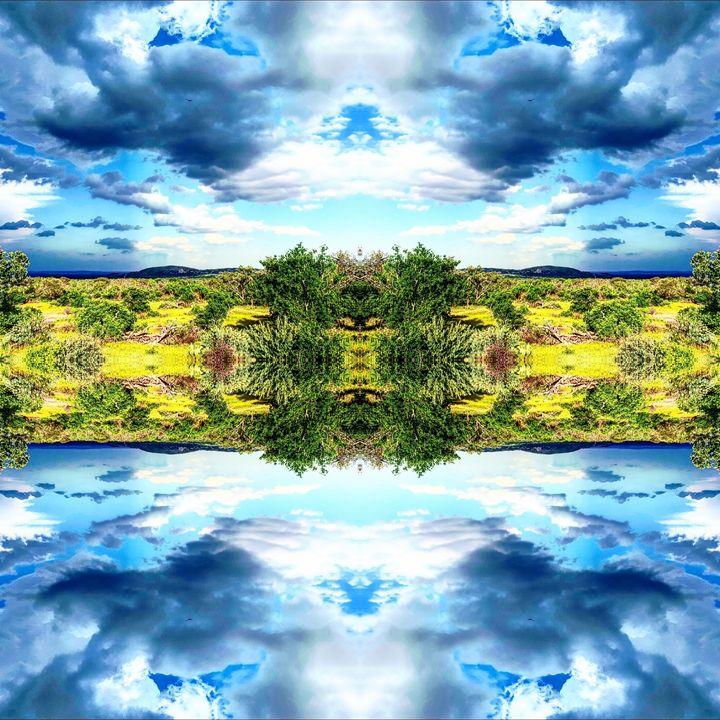 Enchanted Blue Skies - Libbys_ArtStudio