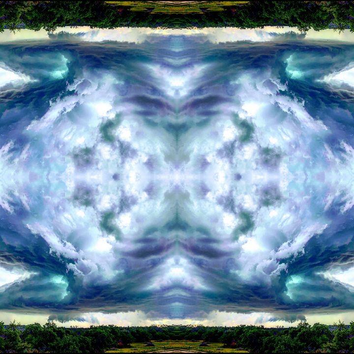 Tie Dyed Skies - Libbys_ArtStudio