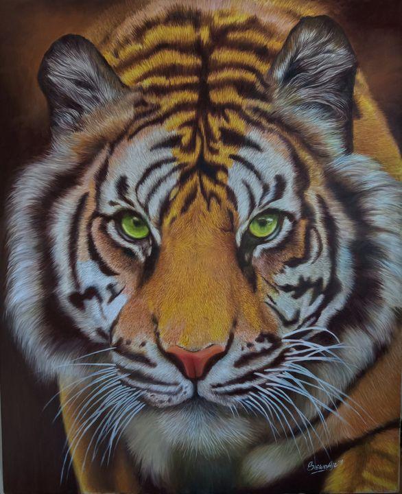 Tiger painting - siswoajiart