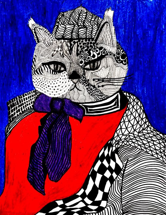 Cat in Clothes - Joey Kovach