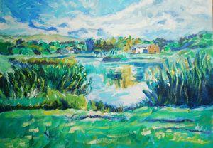 Caldbeck Village Pond