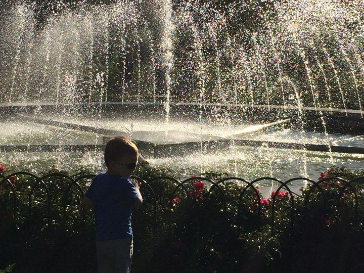Boy at the fountain - K. Anitas