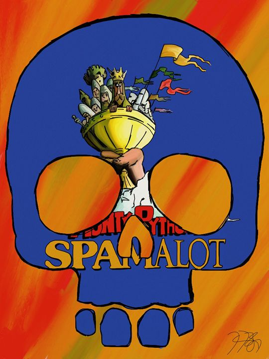Skulls To Broadway Spamalot - Just The Mix by James