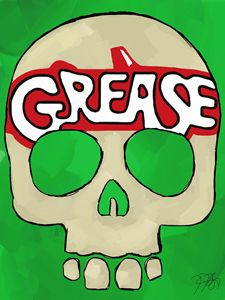 Skulls to Broadway Grease