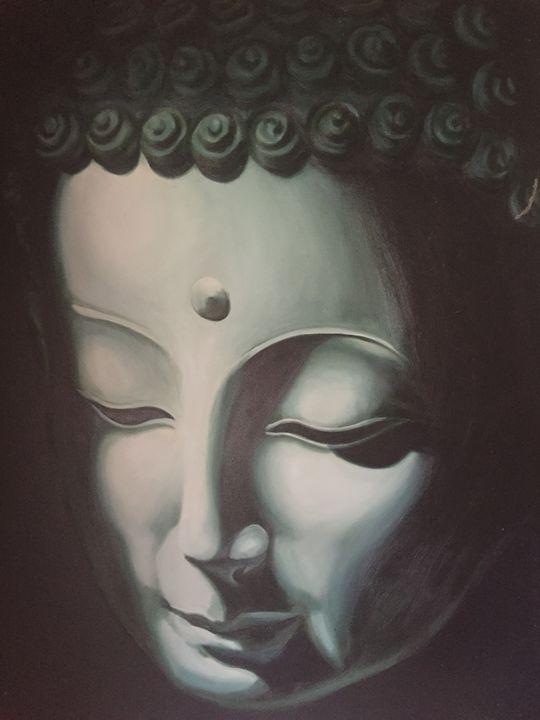 Peaceful Buddha - Natalie Rademeyer