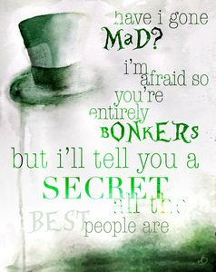 You're Bonkers — Alice in Wonderland