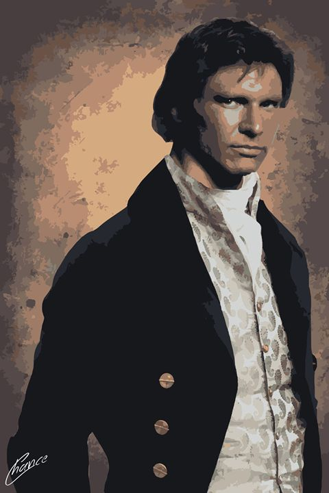 Victorian Han Solo - Graphic Element