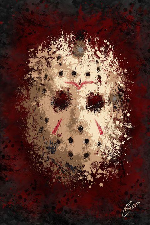 Jason Hockey Mask - Graphic Element