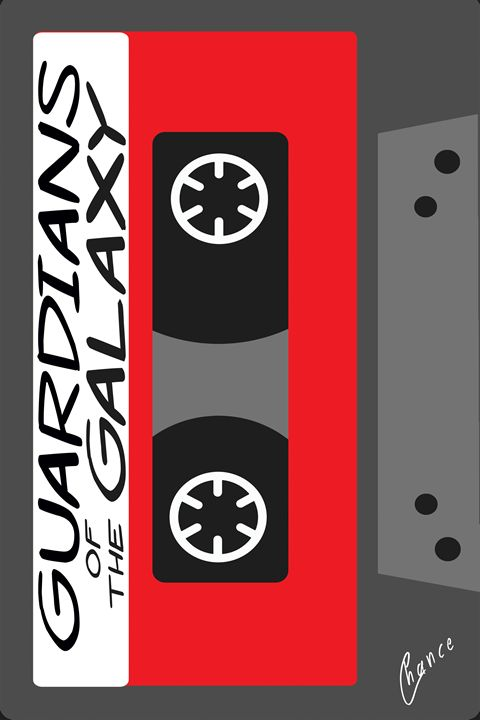 Guardians of the Galaxy Cassette - Graphic Element