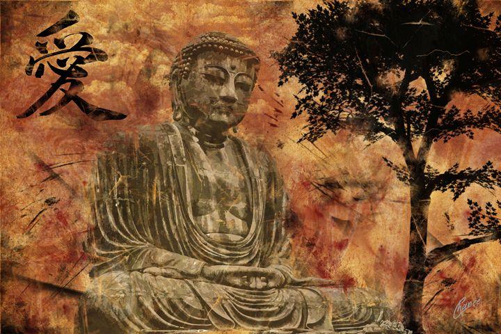 Buddha of Love - Graphic Element