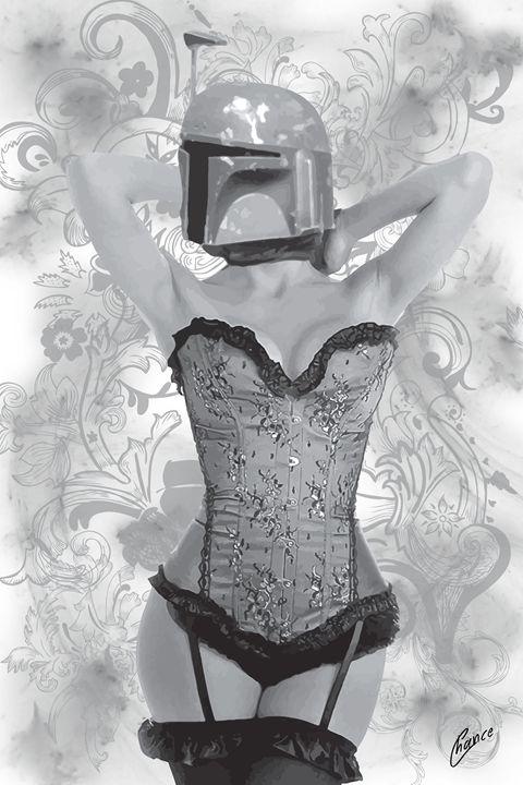 Sexy Boba Fett - Graphic Element