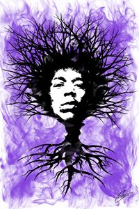 Jimi Hendrix Tree of Life