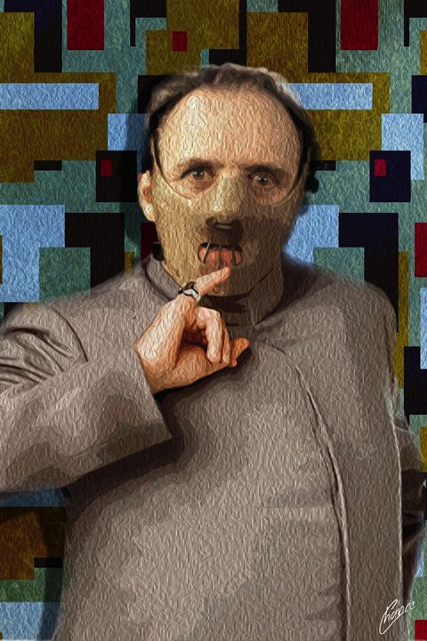 Dr. Evil Hannibal Lector - Graphic Element
