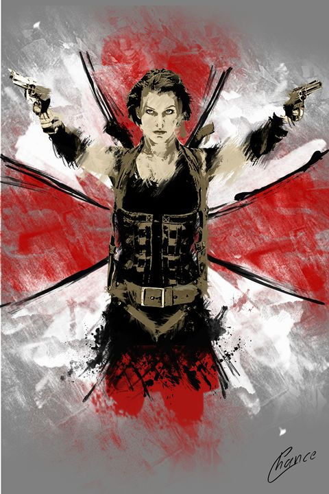 Resident Evil - Graphic Element