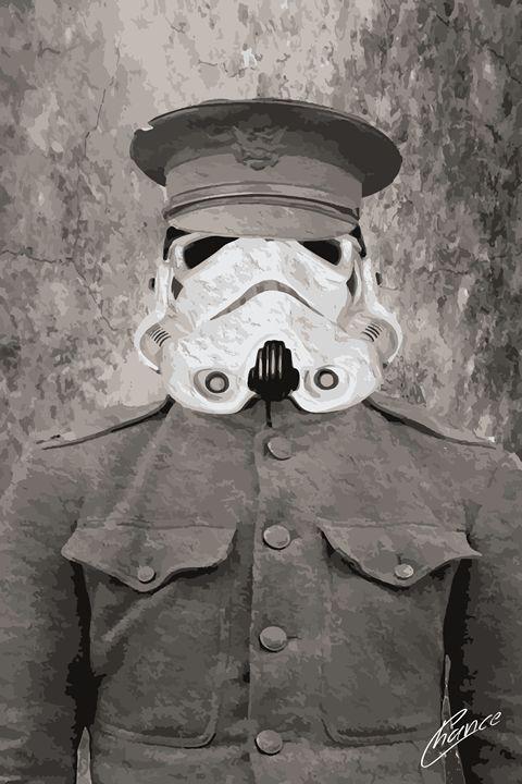 Civil War Storm Trooper - Graphic Element
