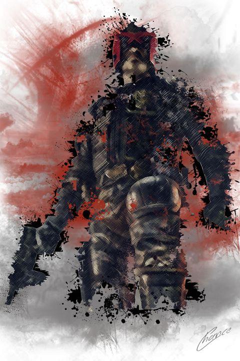 Judge Dredd - Graphic Element