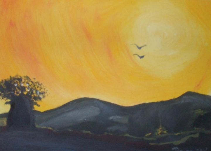 African Sunset 2 - Raine Carosin