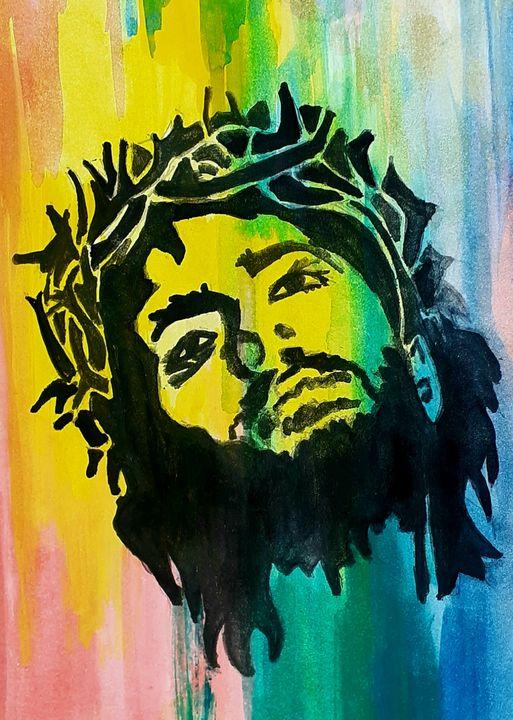 Jesus painting - Ujay