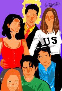 Friends tv show / sit com
