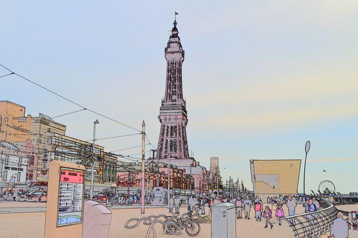 Blackpool tower. - Timawells
