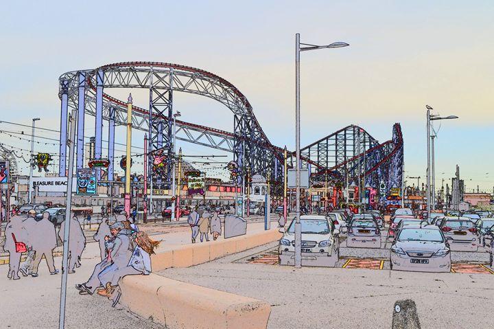 Blackpool big dipper - Timawells