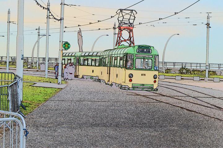 Blackpool tram - Timawells
